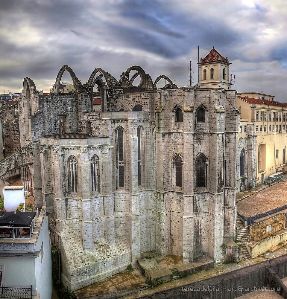 Convento do Carmo by terezadelpilar ~ art & architecture