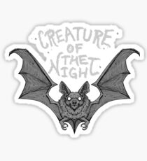 Creature of the Night Sticker