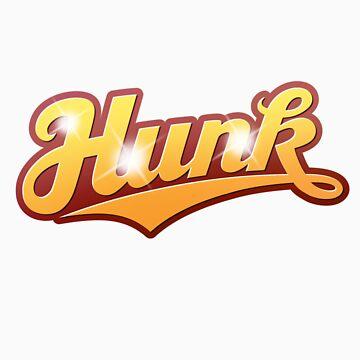 Hunk - sticker by GerbArt