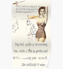 chubby girl, 2010 Poster