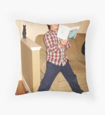 Keo Expounds Throw Pillow
