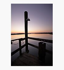 From the Dock near Folly Beach, SC Photographic Print