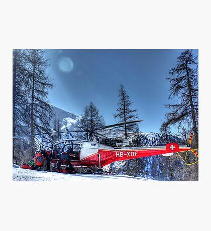The Air Ambulance (HDR) Photographic Print
