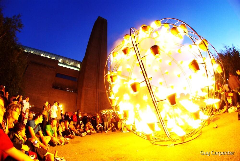 Thames Festival, Fire Garden by Guy Carpenter
