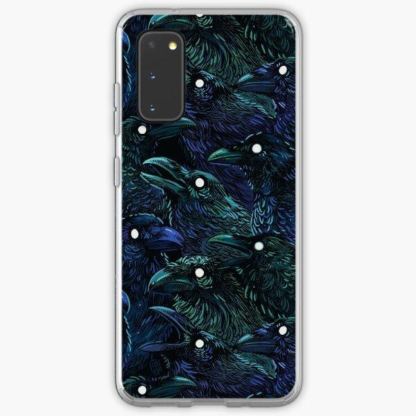 Raven pattern Samsung Galaxy Soft Case