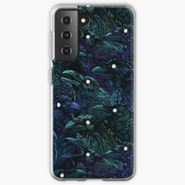 Rabenmuster Samsung Galaxy Flexible Hülle