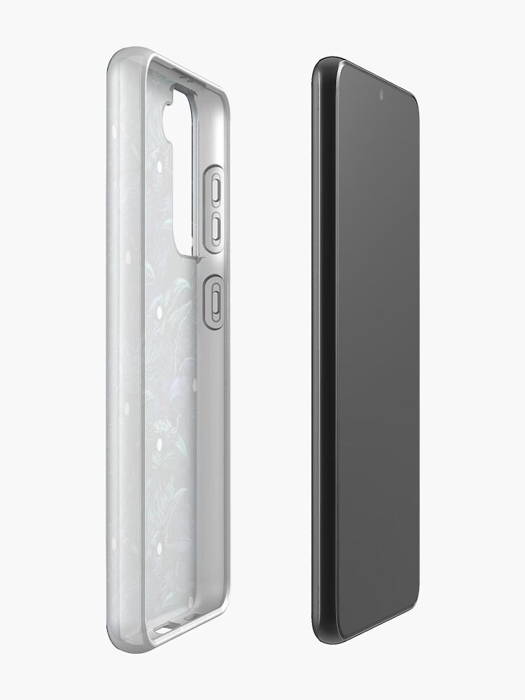 Alternate view of Raven pattern Case & Skin for Samsung Galaxy