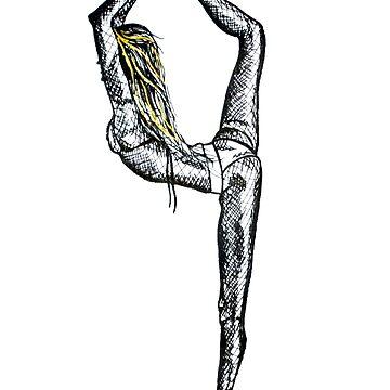 Dancer's Pose by mayavavra