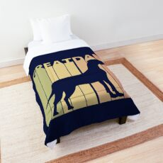Funny Cute Great Dane Comforter