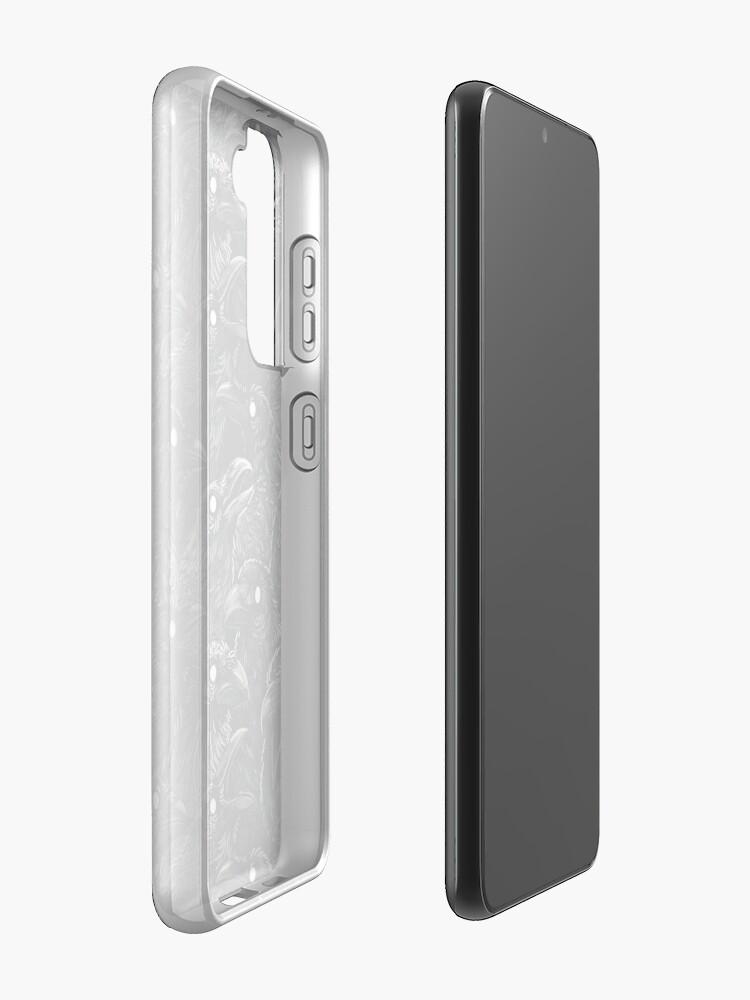 Alternate view of Raven pattern 2 Case & Skin for Samsung Galaxy