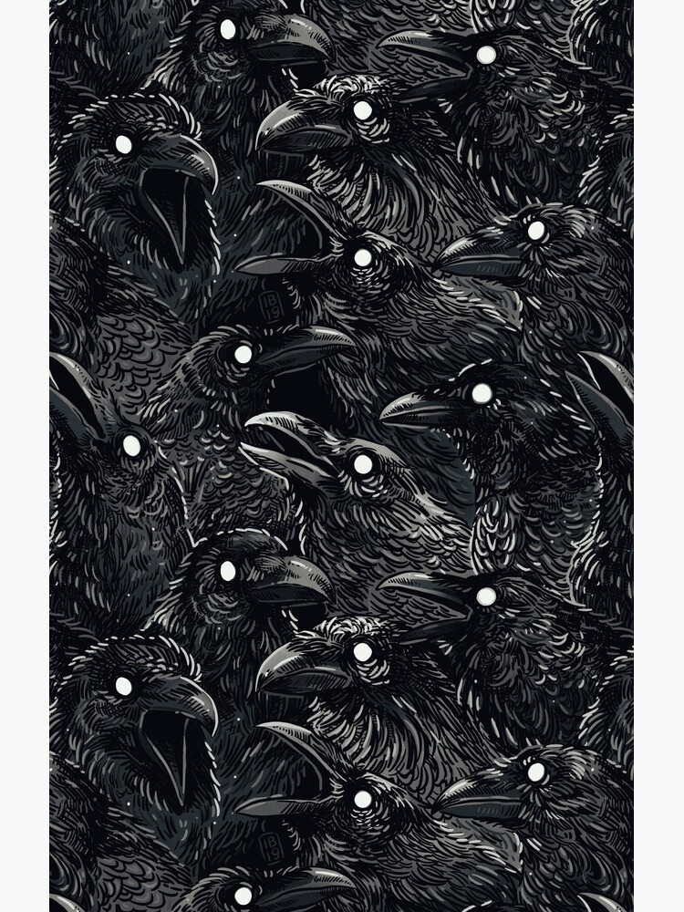 Raven pattern 2 by freeminds