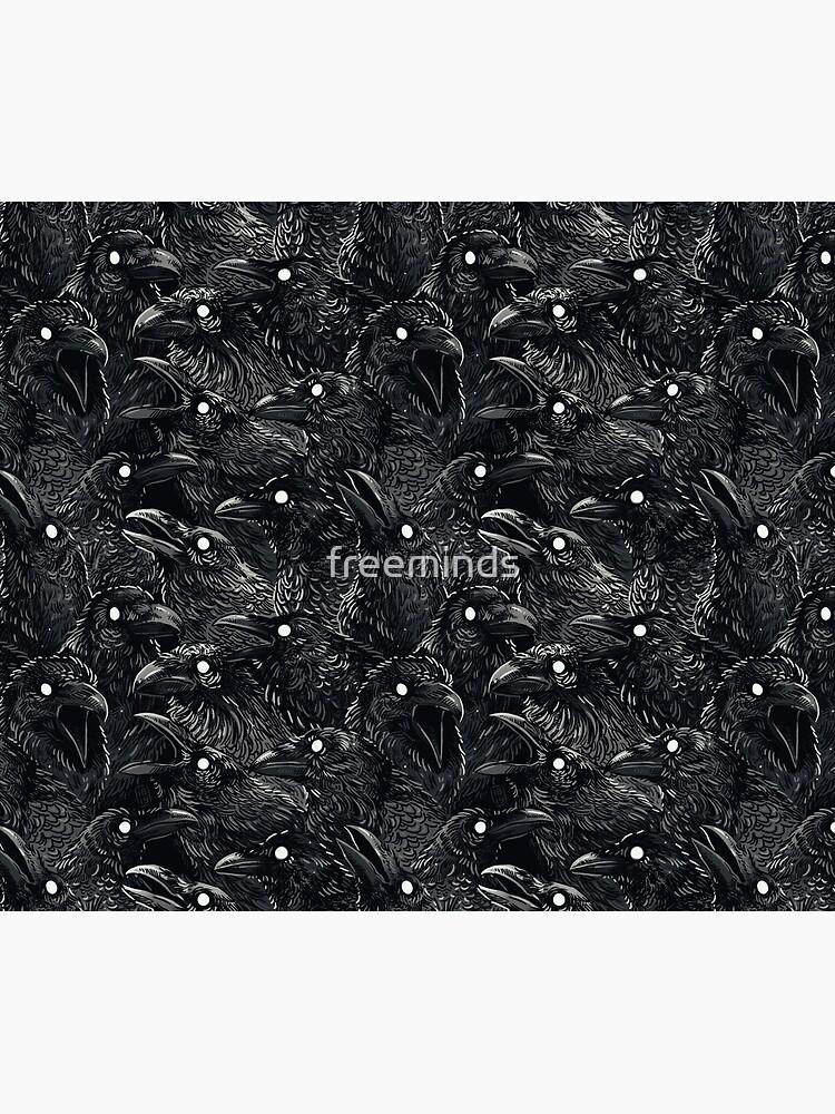 Raven pattern 2 by freeminds