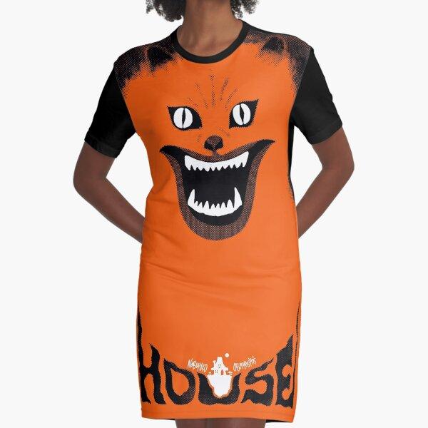 Hausu (ハウス) Retro Japanese Horror Movie 1977 V2.0 Graphic T-Shirt Dress