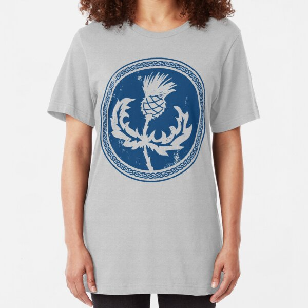 Thistle & Braid - Blue Slim Fit T-Shirt