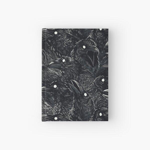Raven pattern 2 Hardcover Journal