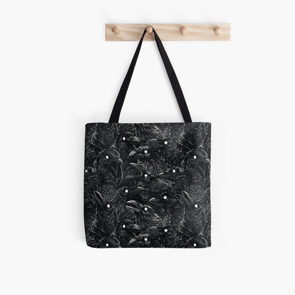 Raven pattern 2 Tote Bag