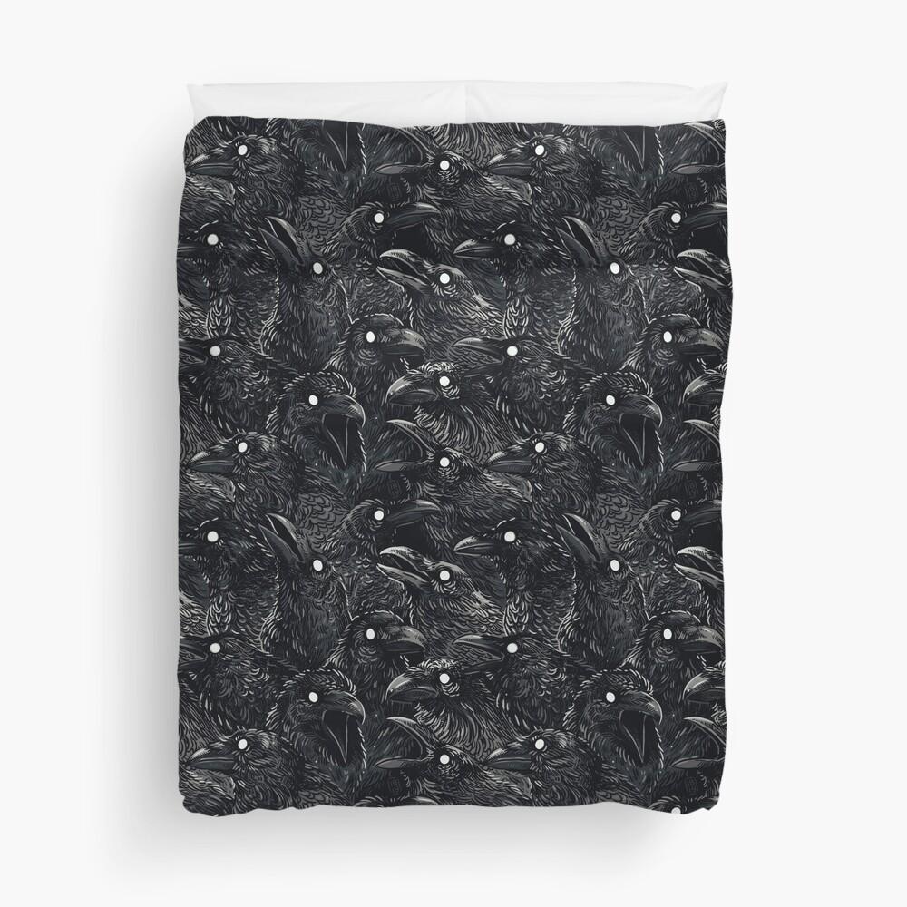 Raven pattern 2 Duvet Cover