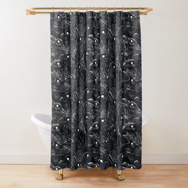 Raven pattern 2 Shower Curtain