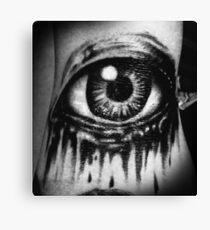 A dead eye Canvas Print