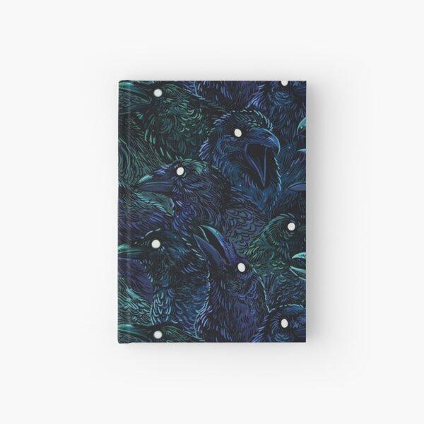 Raven pattern Hardcover Journal