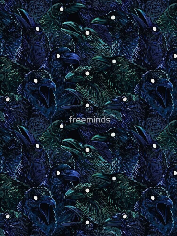 Raven pattern by freeminds