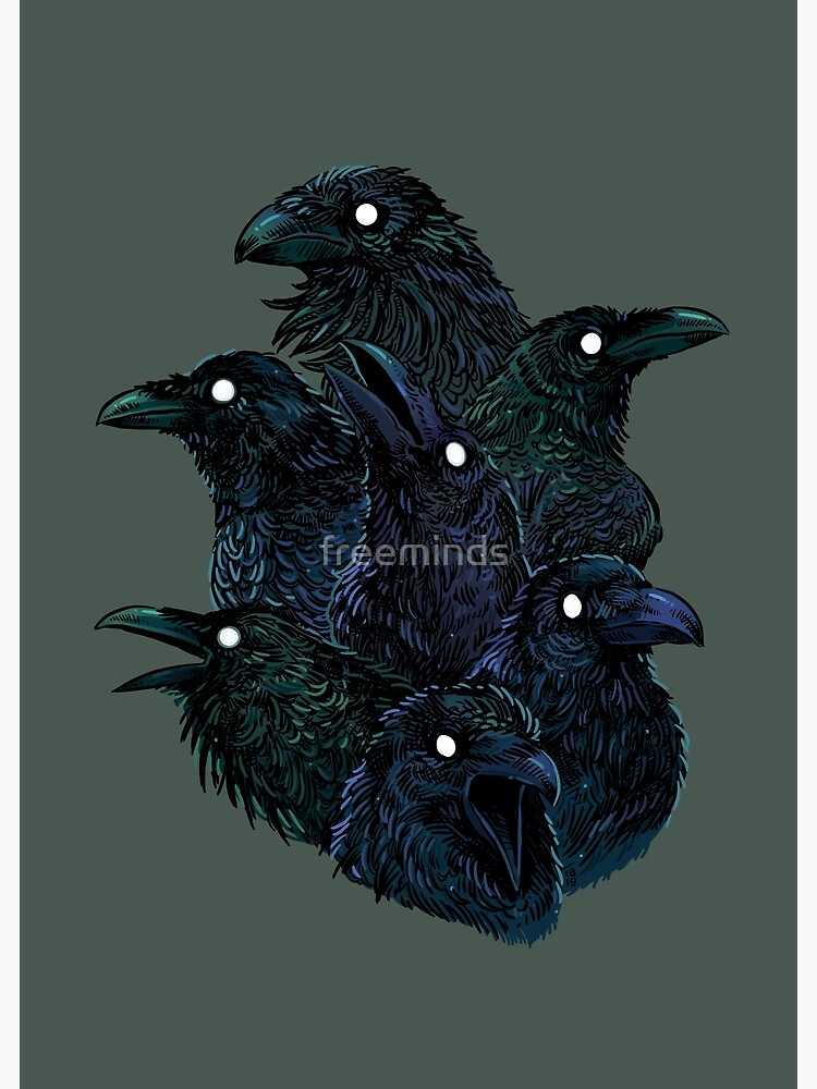 Raven pattern by freeminds