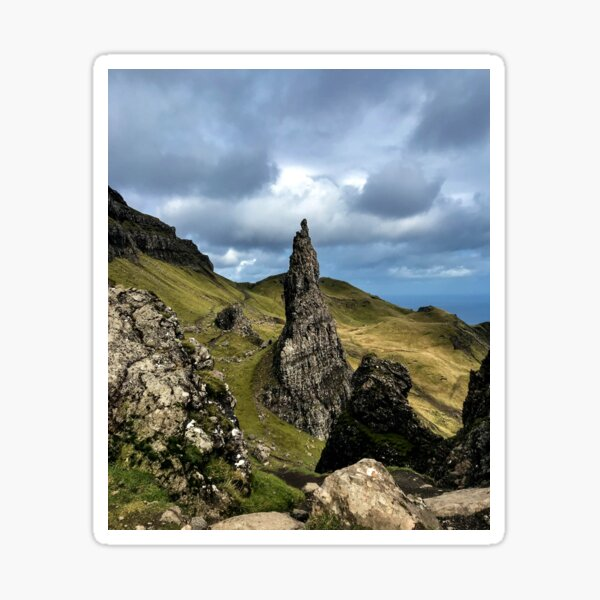 Needle Rock at The Storr Sticker