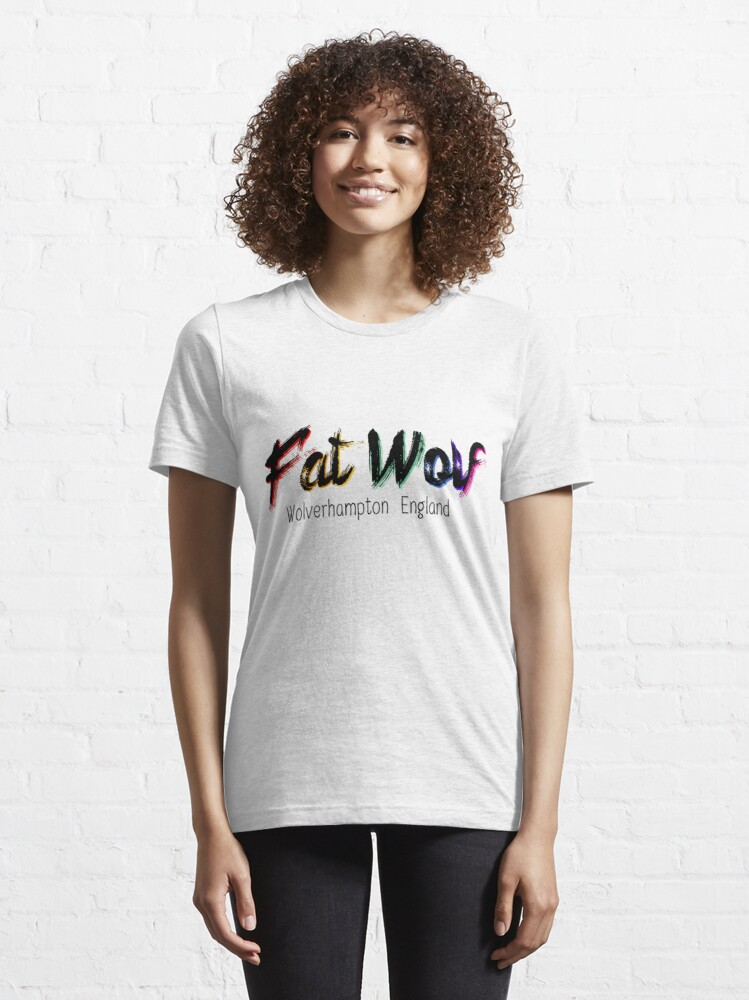 Alternate view of Fat Wolf - Chunky Essential T-Shirt