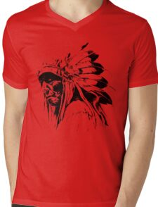 indian apache Mens V-Neck T-Shirt