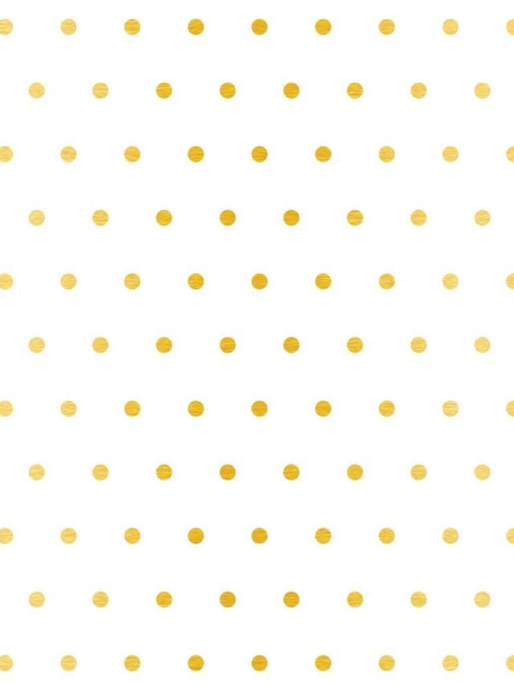 gold foil dot pattern by ashleysally00