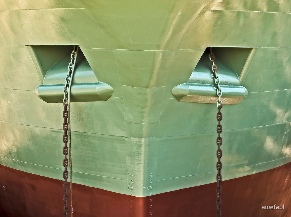 Shiny ship shape by awefaul