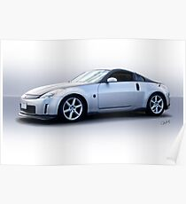 2008 Nissan Z350 Sports Coupe Poster