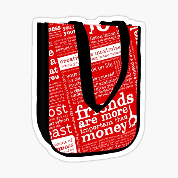 brand bag Sticker