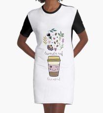 Lavender raf Graphic T-Shirt Dress