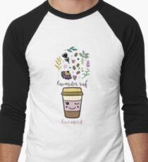 Lavender raf Baseball ¾ Sleeve T-Shirt