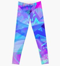 ST-Arclight Hologram Pattern Leggings