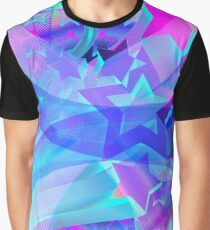 ST-Arclight Hologram Pattern Graphic T-Shirt
