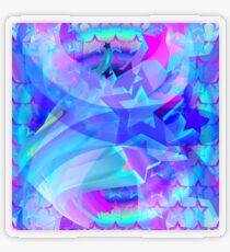 ST-Arclight Hologram Pattern Transparent Sticker
