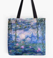 Monet Lilies Tote Bag