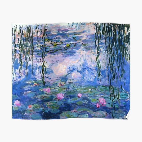 Lirios de Monet Póster