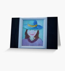 Plain Jane Greeting Card