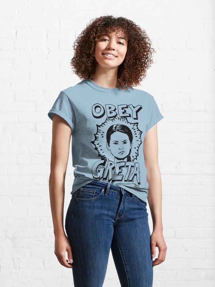 Alternate view of Greta Thunberg t-shirt Classic T-Shirt