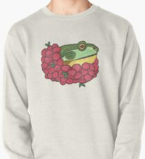 Frog and Cranberries it Must be Fall Pullover Sweatshirt