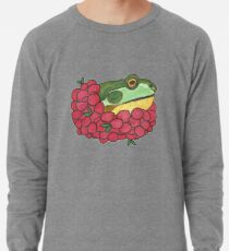 Frog and Cranberries it Must be Fall Lightweight Sweatshirt