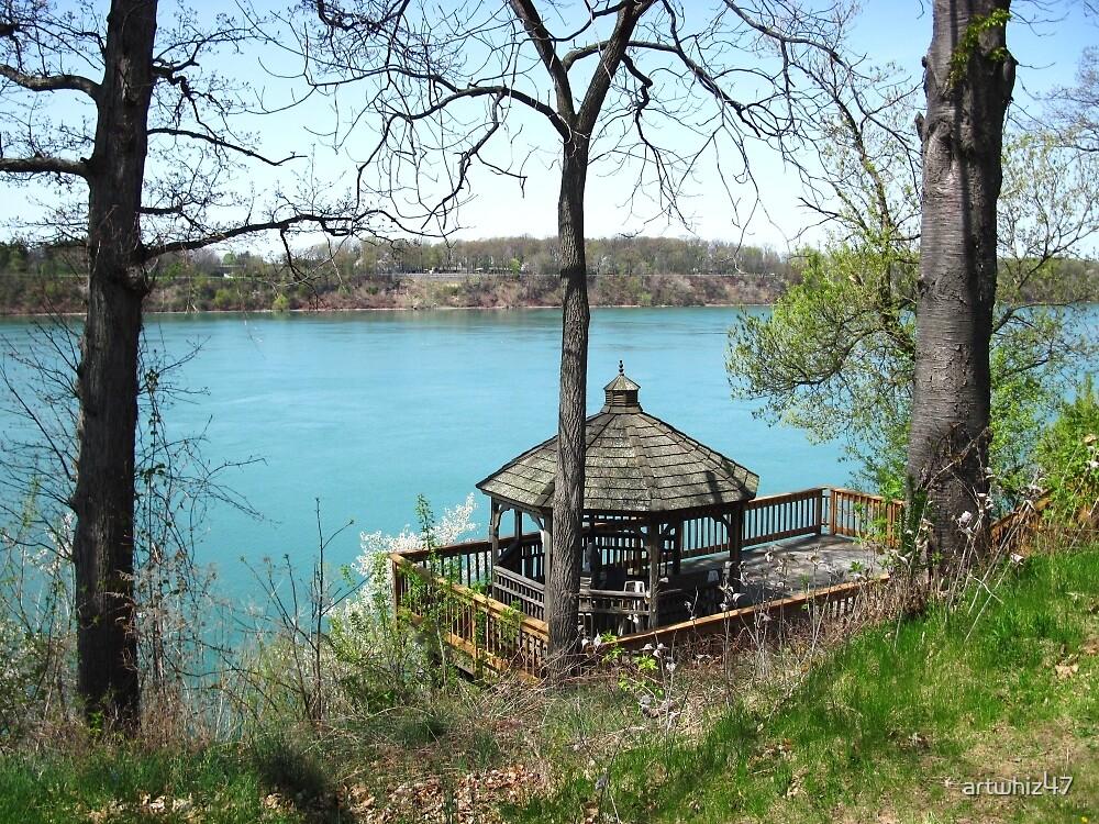 My Front Yard ~ The Niagara At Lewiston, NY by artwhiz47
