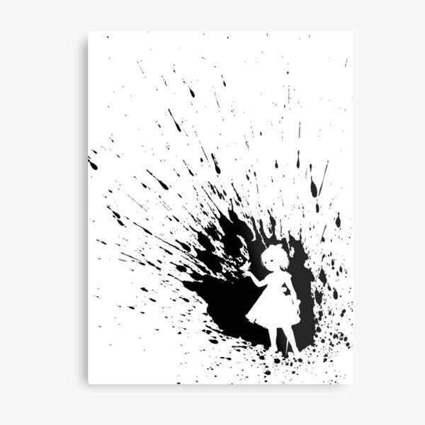 Lil Sister (Bioshock Splatter Series) Metal Print