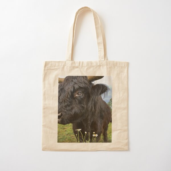 Up Close and Personal Cotton Tote Bag