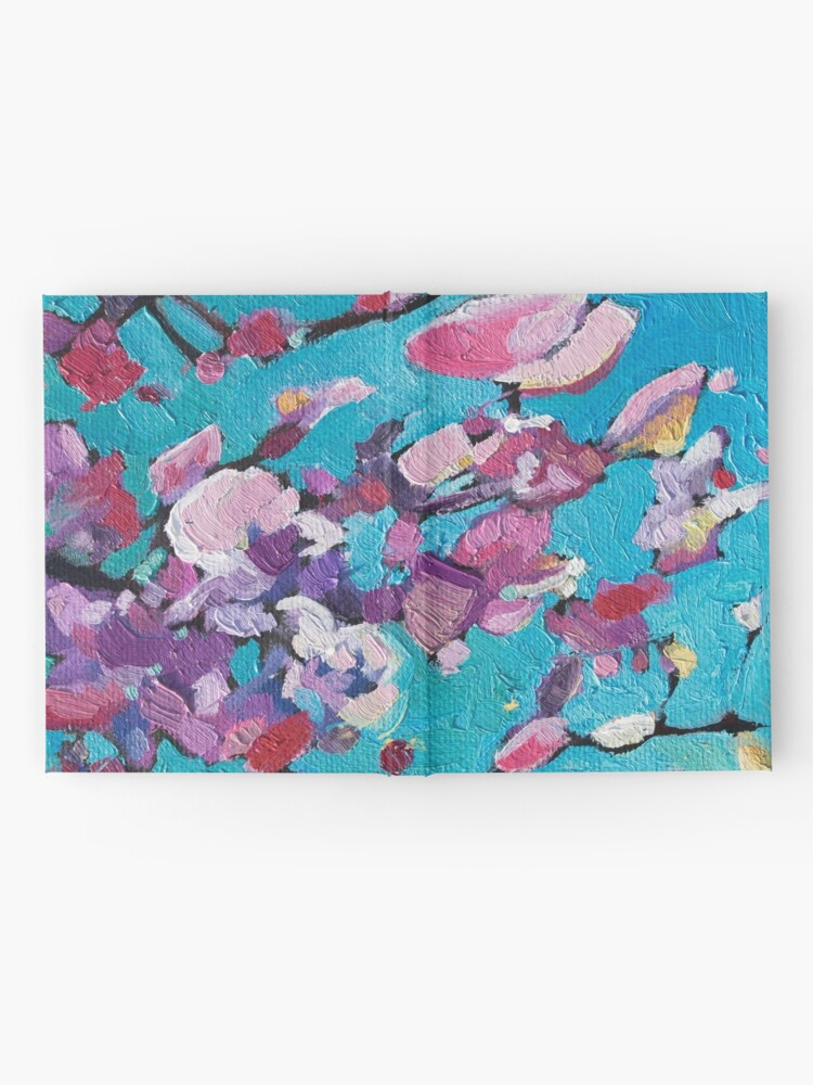 Alternate view of Cherry Blossoms Hardcover Journal
