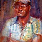 A Portrait A Day 40 - Sijimon by Yevgenia Watts