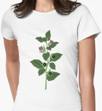 Deadly Nightshade Fitted T-Shirt
